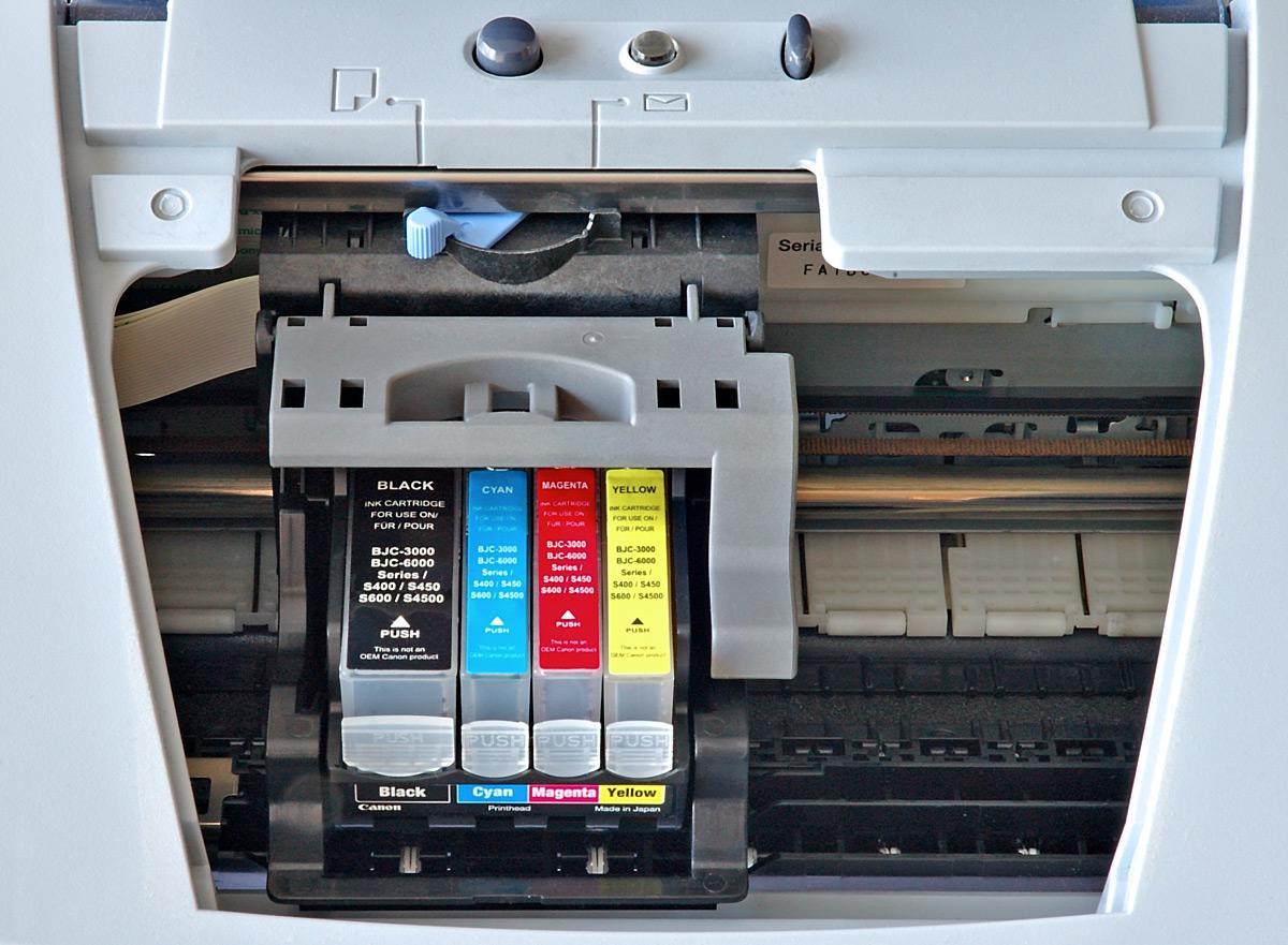 Cómo evitar que los cartuchos de tinta se sequen 1